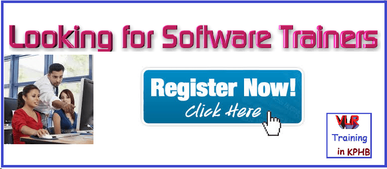 Best Software Trainer Jobs Hyderabad