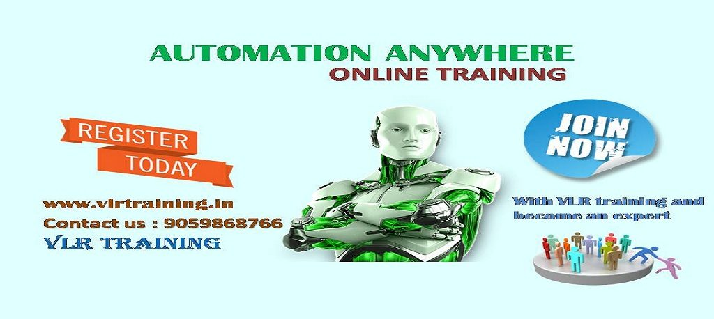 Online training & classroom Training by VLR Training