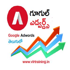 google adwords training in telugu by vlr training