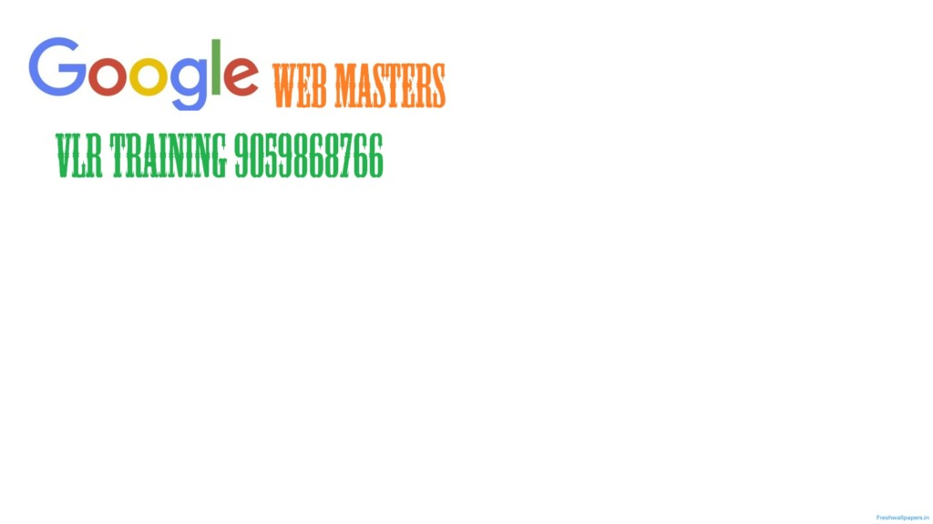 google webmaster training videos