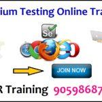 selenium testing online training