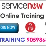 service now online training hyderabad