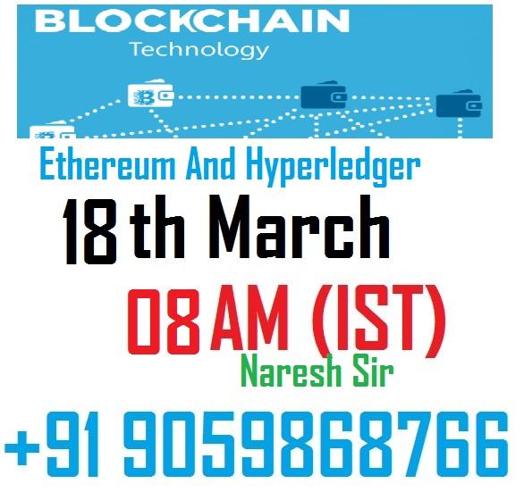 block chain with hyperledger demo