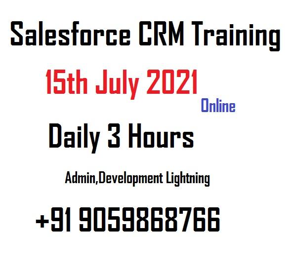 salesforce crm online training