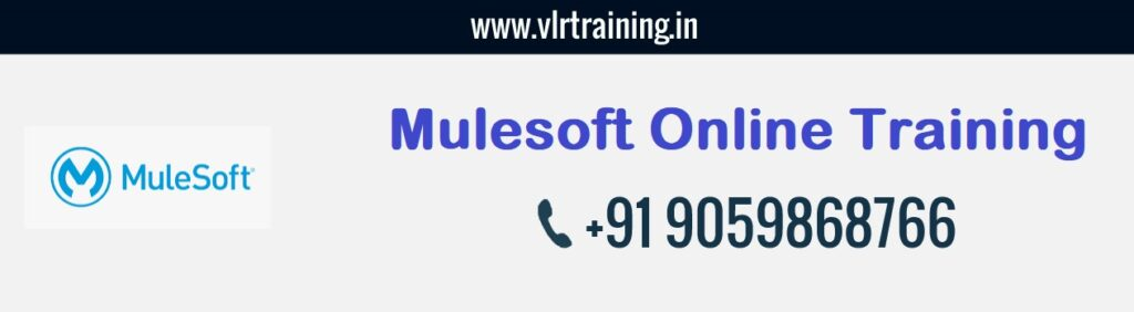 Mulesoft online training hyderabad