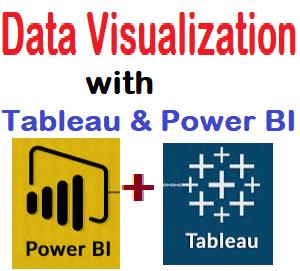 Data Visualization with Tableau & Power BI