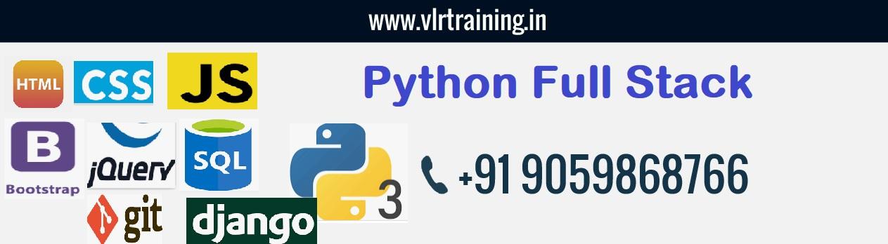 Python Fullstack with Django online training