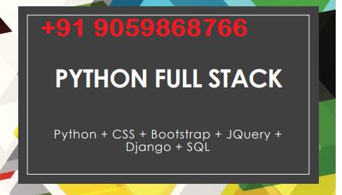 Python fullstack development